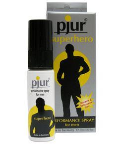 Spray desensibilizator al penisului PJUR Superhero, 20 ml