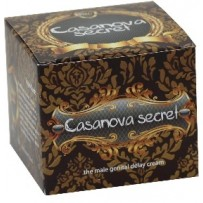 Crema Casanova Secret pentru a afla secretul si a rezista mai mult in pat