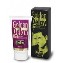 Gel Big Boy Golden Delay pentru diminuarea sensibilitatii penisului